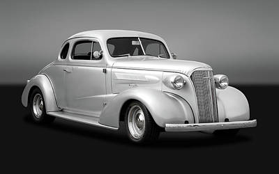 Photograph - 1937 Chevrolet Master Deluxe Custom 2 Door Coupe  -  1937chevycpegry170251 by Frank J Benz