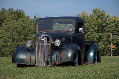 Photograph - 1937 Chevrolet Pickup by Tim McCullough