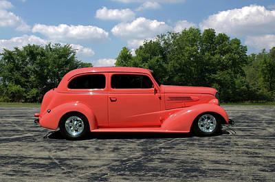 Photograph - 1937 Chevrolet  Sedan by TeeMack