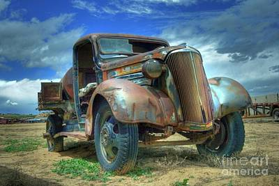 Photograph - 1937 Chevrolet by Tony Baca