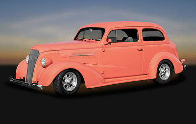 Photograph - 1937 Chevrolet Two Door Sedan   -   1937chevrolet2doorsedan172135 by Frank J Benz