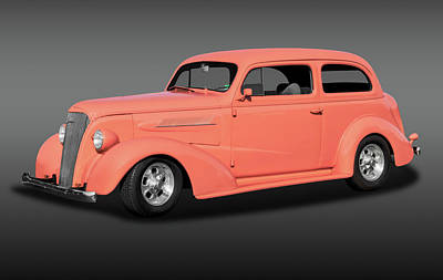 Photograph - 1937 Chevrolet Two Door Sedan  -  1937chevy2doorsedanfa172135 by Frank J Benz
