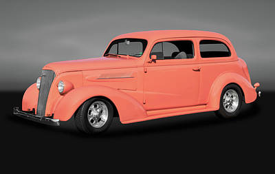 Photograph - 1937 Chevrolet Two Door Sedan  -  1937twodoorchevysedangry172135 by Frank J Benz