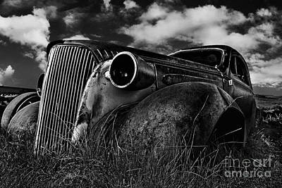 Photograph - 1937 Chevy Coupe by Peter Dang