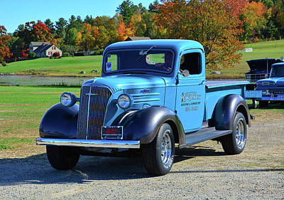 Photograph - 1937 Chevy Truck by Mike Martin