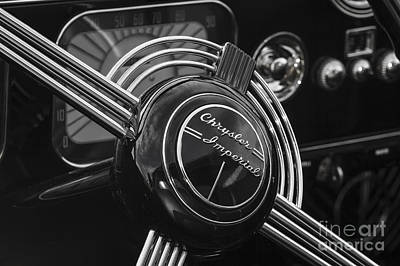 Photograph - 1937 Chrysler Imperial by Dennis Hedberg