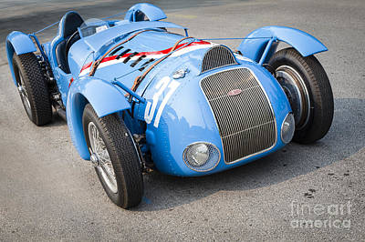 Photograph - 1937 Delahaye 145 by Dennis Hedberg