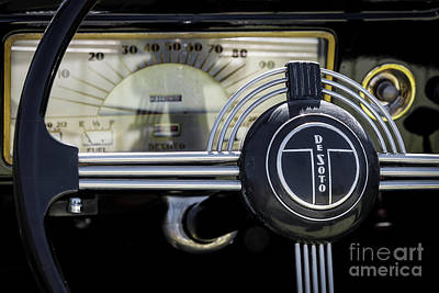 Photograph - 1937 Desoto Dash by Dennis Hedberg