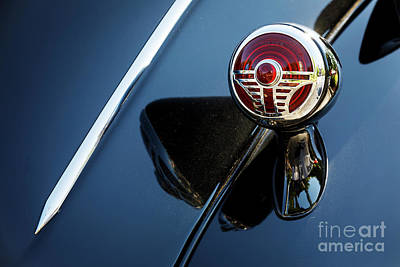 Photograph - 1937 Desoto Taillight by Dennis Hedberg
