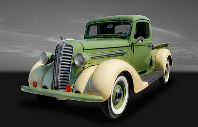 Photograph - 1937 Dodge Pickup by Frank J Benz