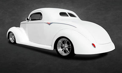 Photograph - 1937 Ford Coupe  -  1937fordcoupefa173479 by Frank J Benz
