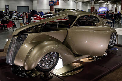 Print featuring the photograph 1937 Ford Coupe by Randy Scherkenbach