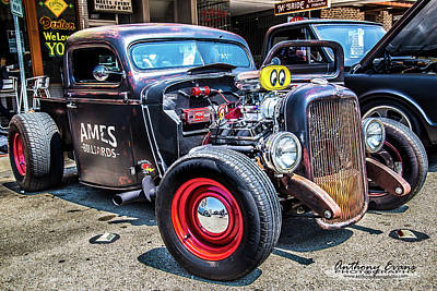 Mooneye Photograph - 1937 Ford Pickup by Anthony Evans