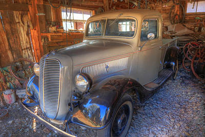 Photograph - 1937 Ford Pickup Truck by Donna Kennedy