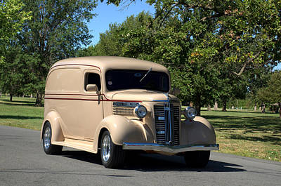 Photograph - 1937 Gmc Panel Truck by Tim McCullough