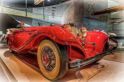 Photograph - 1937 Mercedes-benz 540k Special Roadster 7r2_dsc8187_05102017 by Greg Kluempers