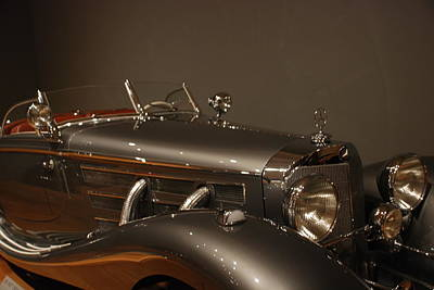 Photograph - 1937 Mercedes-benz 540k Special Roadster by Renee Holder