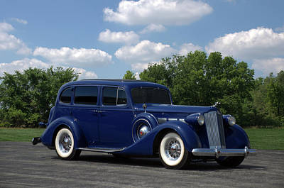 Photograph - 1937 Packard 120 by TeeMack