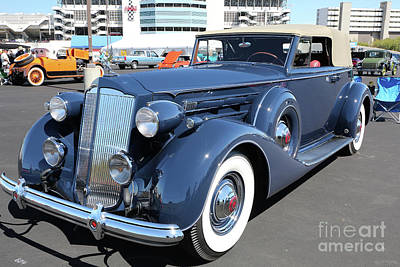 Photograph - 1937 Packard Automobile by Kevin McCarthy