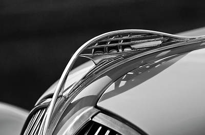 Photograph - 1937 Plymouth Hood Ornament 3 by Jill Reger