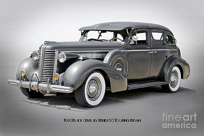 Thomas Kinkade - 1938 Buick Century Series 60 Touring Sedan by Dave Koontz