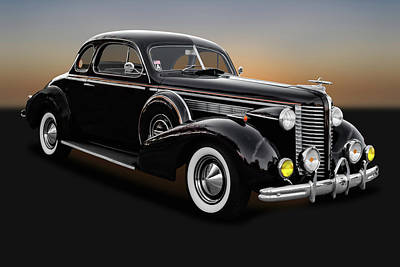 Photograph - 1938 Buick Special Business Coupe  -  1938buickspecial9795 by Frank J Benz