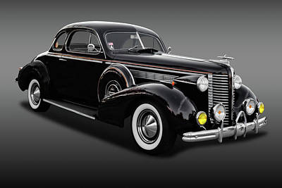 Photograph - 1938 Buick Special Business Coupe  -  38buickbscpfa9795 by Frank J Benz