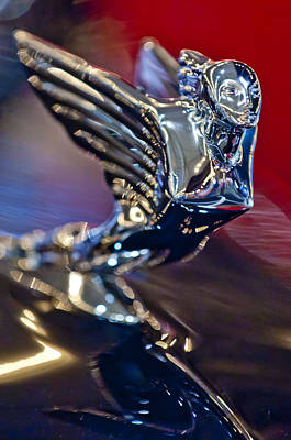 Photograph - 1938 Cadillac V-16 Hood Ornament by Jill Reger