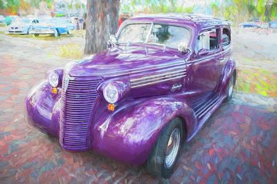 1938 Chevrolet 2 Door Sedan Deluxe C117  Art Print