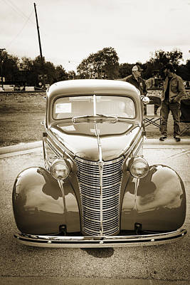 Photograph - 1938 Chevrolet Classic Car Photograph 6757.01 by M K Miller