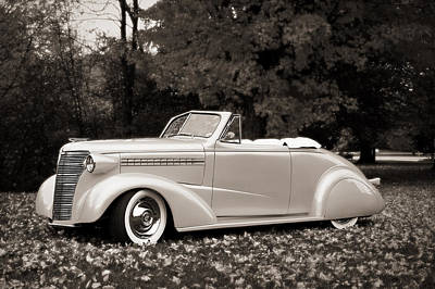Photograph - 1938 Chevrolet Convertible by Dick Pratt