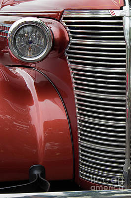 Photograph - 1938 Chevrolet Master Deluxe by Rick Bures