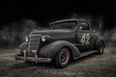 Digital Art - 1938 Chevy Coupe by Douglas Pittman