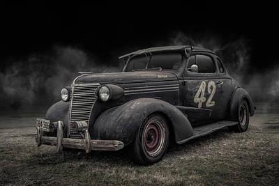 Digital Art - 1938 Chevy Coupe by Douglas Pittman