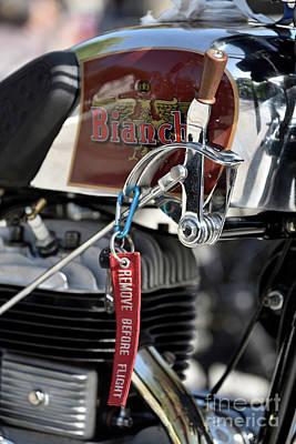 Photograph - 1938 Classic Bianchi by George Atsametakis