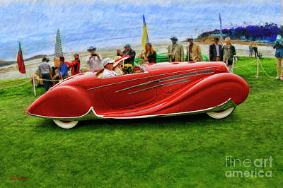 Photograph - 1938 Delahaye 165 by Blake Richards