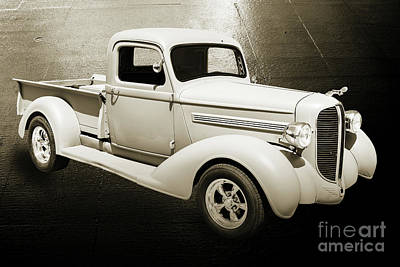 Photograph - 1938 Dodge Pickup Truck 5540.01 by M K Miller