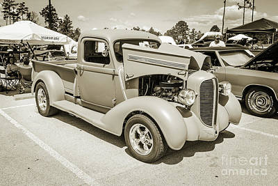 Photograph - 1938 Dodge Pickup Truck 5540.05 by M K Miller