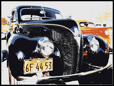 Photograph - 1938 Ford Coupe by Glenn McCarthy Art and Photography