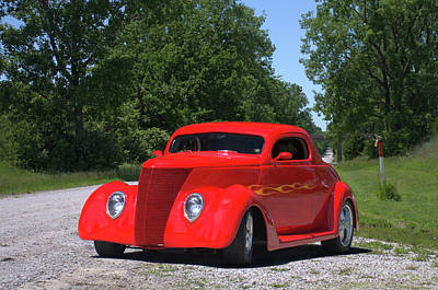 Photograph - 1938 Ford Coupe by Tim McCullough