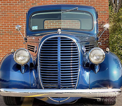 Photograph - 1938 Ford Pickup by Janice Drew