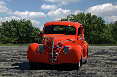 Photograph - 1938 Ford Sedan by Tim McCullough