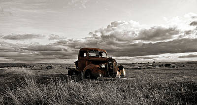 Photograph - Abandoned Ford Pickup by Steve McKinzie