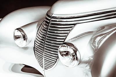 1938 Hispano-suiza H6b Xenia Front Art Print