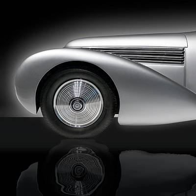 Photograph - 1938 Hispano Suiza H6b Xenia by Gary Warnimont
