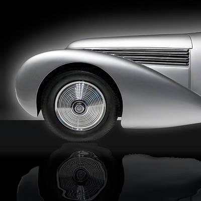 Photograph - 1938 Hispano Suiza H6b Xenia by Gary Warnimont