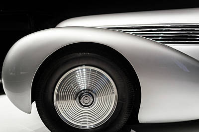 Photograph - 1938 Hispano-suiza H6b Xenia by Wade Brooks