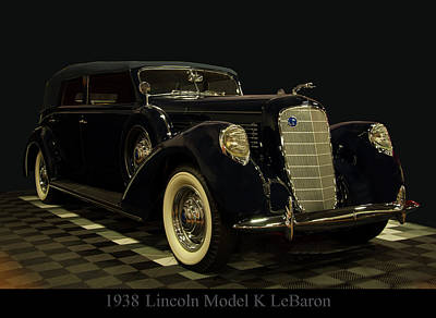 Photograph - 1938 Lincoln Model K Lebaron by Chris Flees