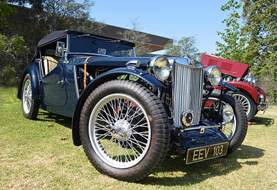 Photograph - 1938 Mg  by Bill Dutting
