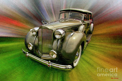 Photograph - 1938 Packard 1605 Super Eight  by Blake Richards